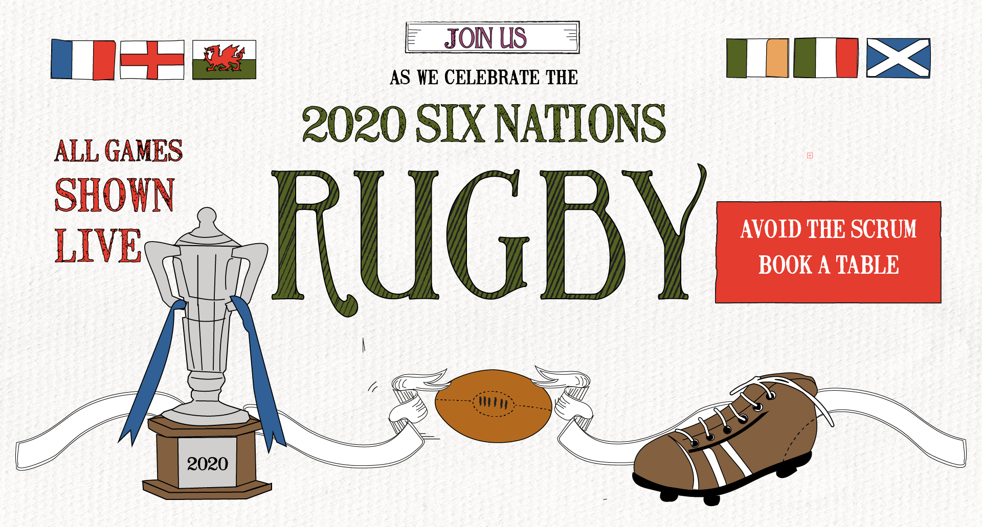 Six Nations at The Forth Hotel