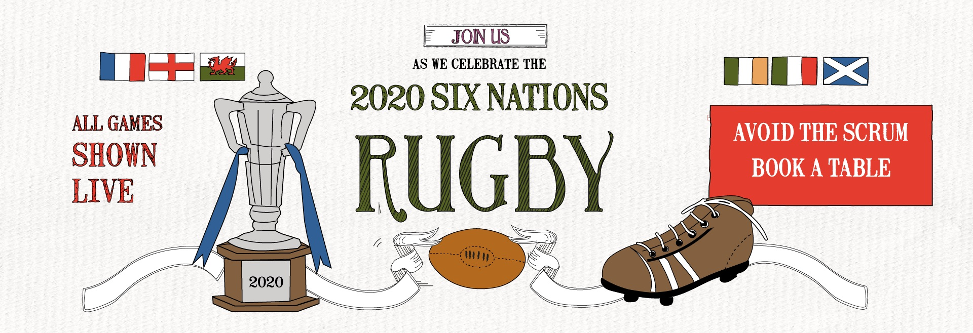 Six Nations Live at Newcastle
