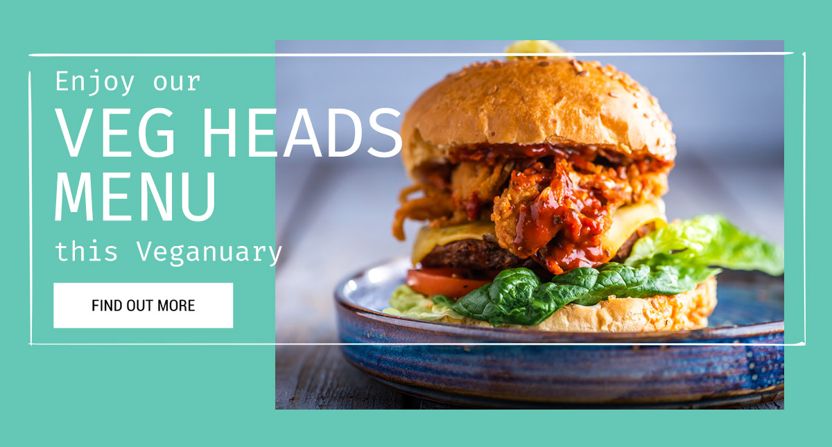 Veg Heads this Veganuary at The Forth Hotel